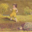DE LAND'S Saleratus Trade Card, ca. 1880's, TC2