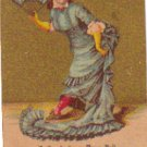 GRAND FANCY DRESS BALL, April, 1881, Advertising card,  TC4