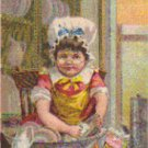IVORINE Trade Card, ca. 1880's, TC9