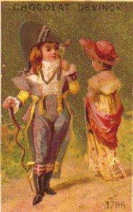 CHOCOLAT DEVINCK Trade Card, TC28