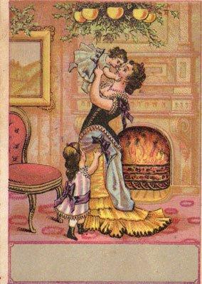 VICTORIAN TRADE CARD, circa 1880's, TC43