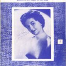 "1955 SHEET MUSIC ""Suddenly There's A Valley"" Gogi Grant SM3"