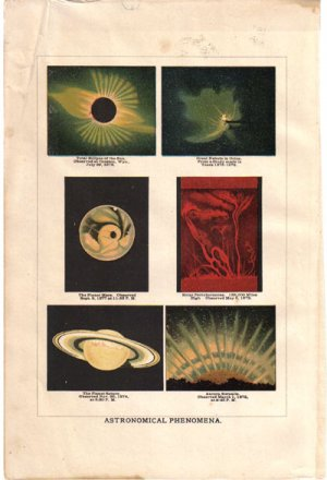 �Astronomical Phenomena�  Color Plate,  BP6