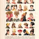 """Head-Dress of European Women"" Color Plate,  BP10"