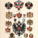 """National Coat of Arms""  Color Plate,  BP11"