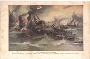 �The World�s Greatest Sea Fight� Color Plate WWI,  BP32