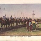 Russian Cavalry Retreating Color Plate WWI,  BP35