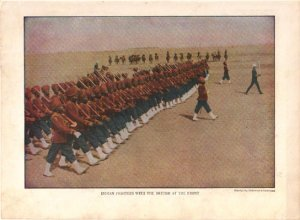 Indian Fighters with the British Color Plate WWI,  BP38