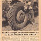 B. F. Goodrich Tractor Tires ad, 1948 AD162
