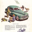 1948 LOOK Dodge Automobile Ad, AD135