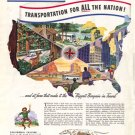 1948 LOOK Greyhound Transportation Ad, AD136
