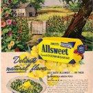 Swift's ALLSWEET Oleomargarine Ad, 1948, Aad5