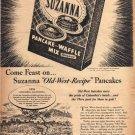 1948 Suzanna Pancake Mix Ad, Columbia CA, AD149