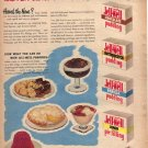1949 Jell-Well Pudding and Pie Filling Ad,  AD173