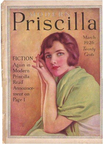 1926 Modern Priscilla Cover Gold Dust Washing Powder AD139