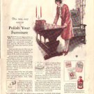 1926 Modern Priscilla Johnson's Liquid Wax  Ad AD143