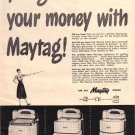 Maytag Wringer Washer Ad, 1948, AD152