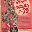 White King Quick Dissolving Soap Ad, 1949, AD172