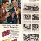 1948 LOOK Chewing Gum Adams Chicklets Clove Black Jack Ad, AD138