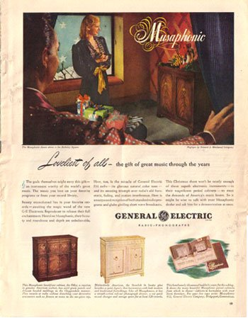 1946 Musaphonic by General Electric Ad, AD163