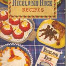 Riceland Rice Recipes Cookbook, Vintage 1952, CB1