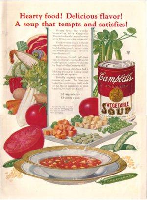 1926 Modern Priscilla, Campbell SoupAd, AD142