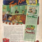 Truscon Featuring Tite Wall - Paratex, 1946 Ad, AD112