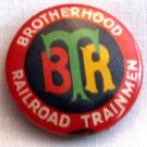 Vintage Brotherhood of Railroad Trainmen Pin Back Medallion, VM2