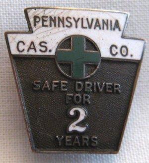 Vintage Award Medallion Pennsylvania Cas. Co., VM3