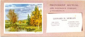 Provident Mutual Life Insurance Ink Blotter, BL3