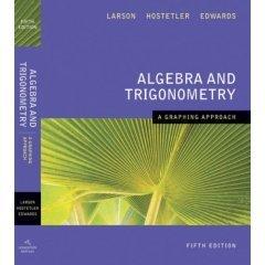 ALGEBRA & TRIGONOMETRY: GRAPHING 061885195X