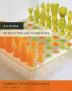 Algebra: Introductory and Intermediate (Paperback) ISBN: 0618609539