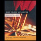 Basic College Math, With Mathspace Cd, 8th Edition (Paperback) ISBN: 0618629947