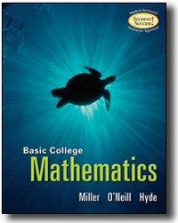 Basic College Mathematics (Paperback) ISBN: 0073023183