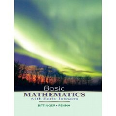 Basic Mathematics with Early Integers (Paperback) ISBN: 0321440110