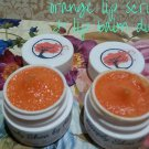 Orange Lip Scrub & Lip Balm Duo ALL NATURAL Sugar Lips || Organic || All Natural || Handmade