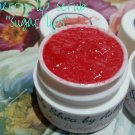 Cherry flavored Sugar Lips lip Scrub ALL NATURAL ||  All Natural || Handmade