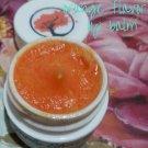 Orange Flavored Shea Butter Lip Balm     Moisturizing Lip Balm    All Natural    Handmade
