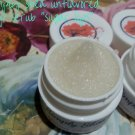 Simply Shea by Ashley unflavored lip scrub ALL NATURAL sugar lips ||  All Natural || Handmade