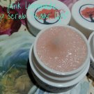 Pink Lemonade flavored lip scrub ALL NATURAL sugar lips ||  All Natural || Handmade