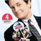 Michael J. Fox Comedy Favorites Collection (DVD, 2007, 4-Disc Set) BRAND NEW