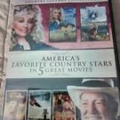 America's Favorite Country Stars in 5 Great Movies (DVD, 2013, 2-Disc Set) NEW