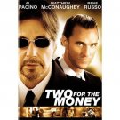 Two for the Money (DVD, 2006 Widescreen) AL PACINO MATTHEW MCCONAUGHEY BRAND NEW