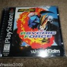 Psychic Force PS1 (Sony PlayStation 1, 1996) BLACK LABEL COMPLETE