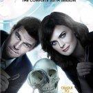 Bones: The Complete Sixth/6TH Season (DVD, 2011, 6-Disc Set)