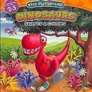 Konami Kids Playground: Dinosaurs Shapes & Colors (Sony PlayStation 2, 2007) NEW