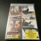 JASON STATHAM 4 FILM COLLECTION DVD CRANK,CRANK 2,WAR, TRANSPORTER 3 (BRAND NEW)