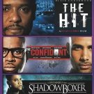 The Hit/The Confidant/ShadowBoxer (DVD, 2013, 3-Disc Set)
