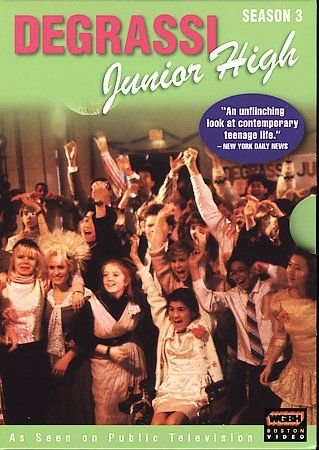 Degrassi Junior High - Season 3 (DVD, 2005, 3-Disc Set) BRAND NEW