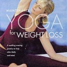 Maintenance Yoga for Weight Loss (DVD, 2006, 2-Disc Set, CD Included) BRAND NEW